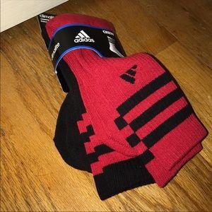 Other - 2 Pack Adidas Crew Socks Men's 6-12